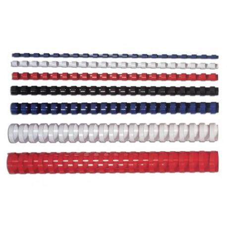 Fellowes Grzbiety plastikowe okrągłe 100szt, 81-100 kartek – 14 mm