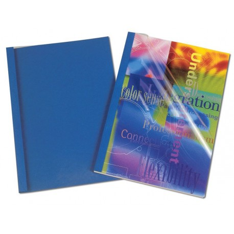 Okładki do termobindowania skóropodobne Fellowes PRESTIGE – 1,5 mm (1-8 kartek)